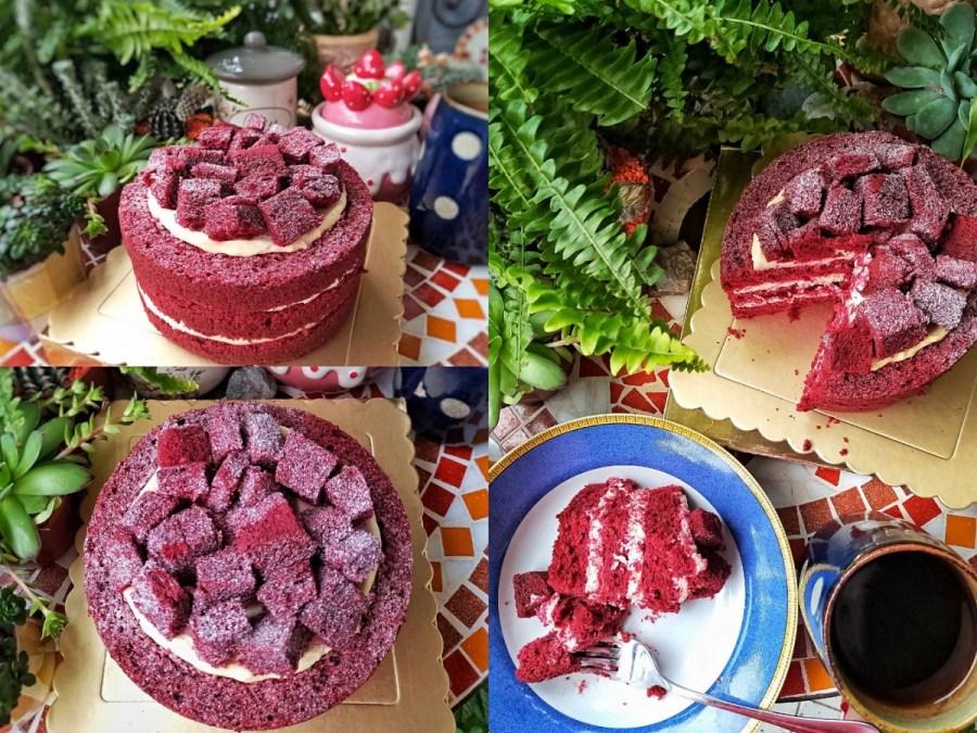 【2021母親節蛋糕預購│宅配團購美食】紅色提拉米蘇!Jetezo Café母親節「紅絲絨蛋糕」
