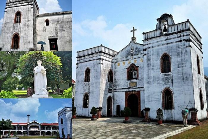 【屏東一日遊│萬金聖母聖殿】萬巒三寶:台灣最美最古老教堂+豬腳+可可 教宗欽點聖殿