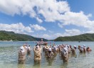 Shioya Ungami Sea Festival an Important Intangible Folk Cultural Properties of Japan, Shioya Bay, Ogimi Village, Okinawa