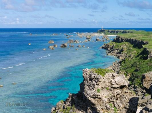 Cape Hennazaki Lighthouse - Miyako Island, Okinawa, Japan