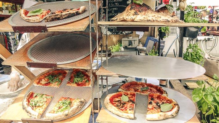 Pizza! Camden Market, London