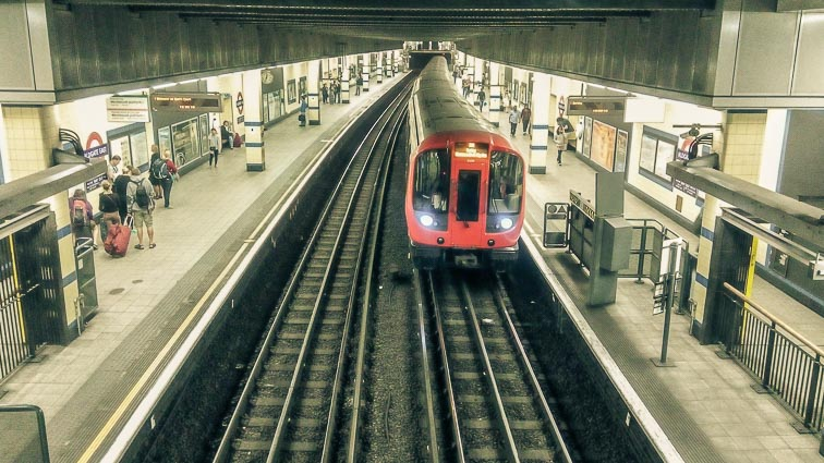 Underground in London. How Expensive is London?