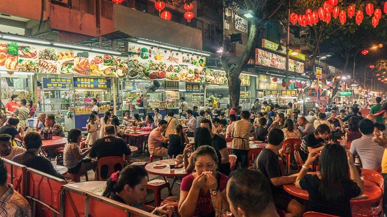 Jalan Alor, Kuala Lumpur. Is Malaysia expensive?