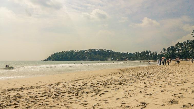 Beach of Mirissa, Sri Lanka