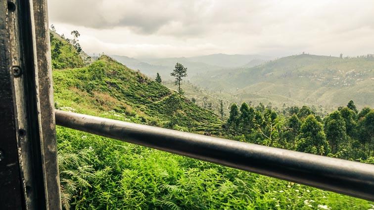 View from train, Sri Lanka