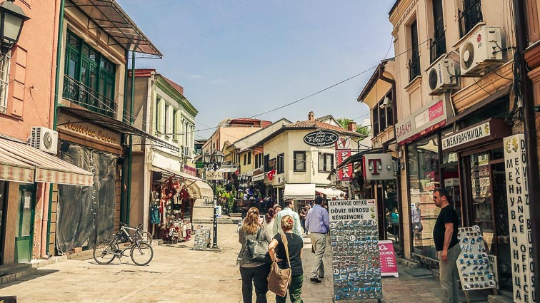 Old Town, Skopje. Travel Budget for Macedonia