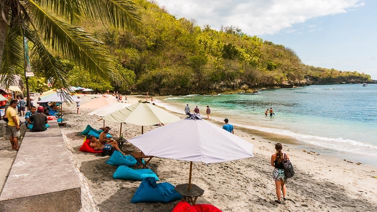 Nusa Penida. Chrystal Beach.