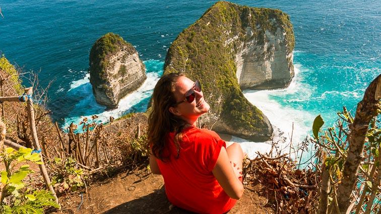 Bali Itinerary. Kir on Nusa Penida
