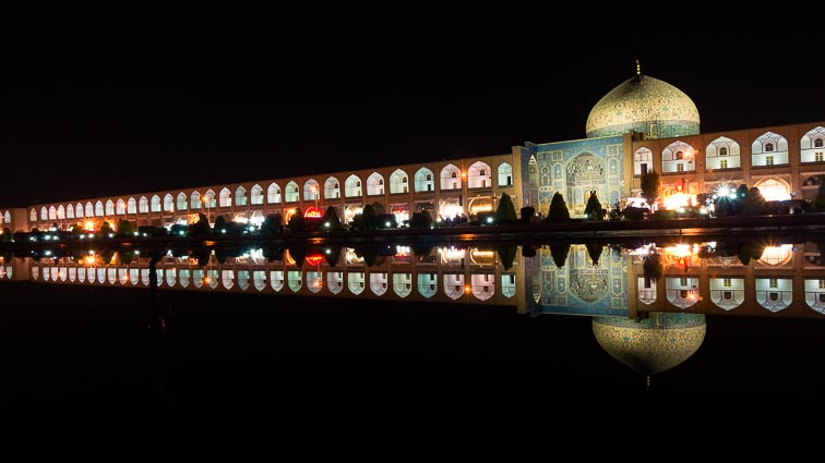 Route Iran. Meidan Emam Square, Isfahan