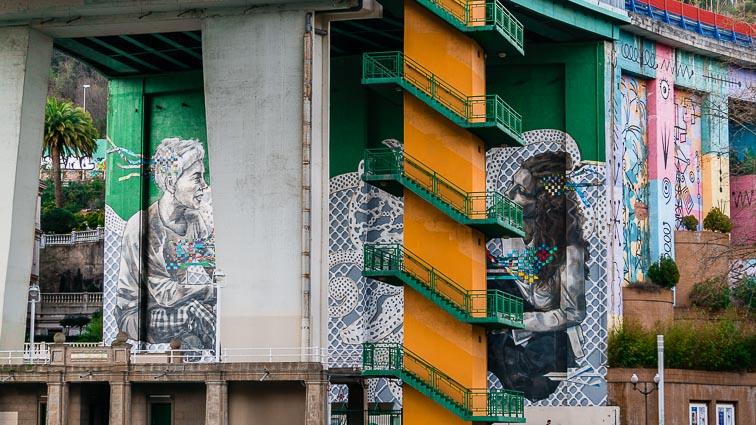 Street art in Bilbao