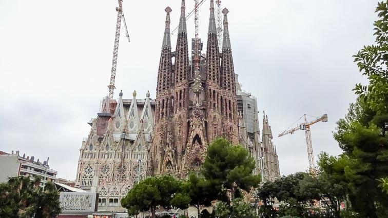 Segrada Familia, Barcelona