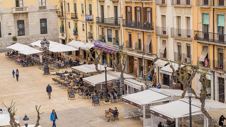 Main square of Tarragona.