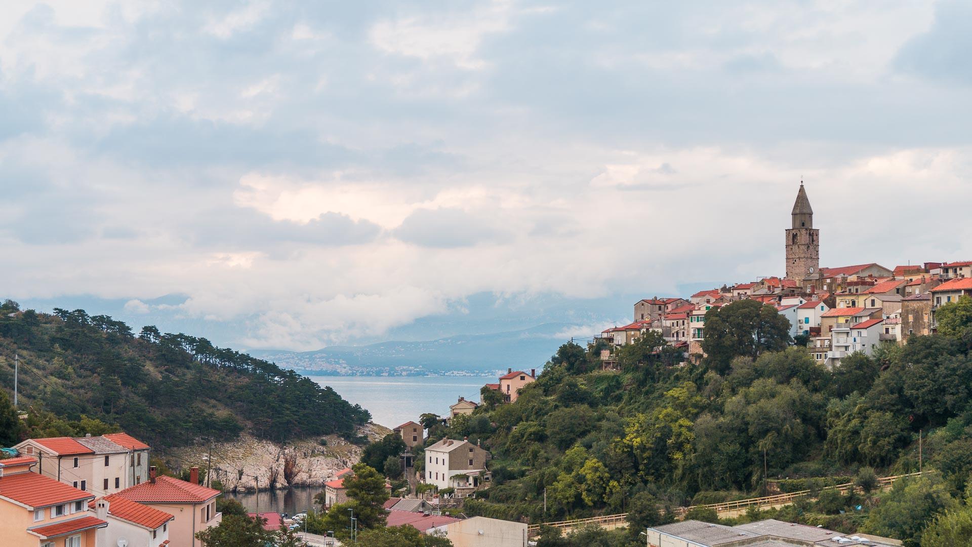The town of Vrbnik, Krk Island, Croatia