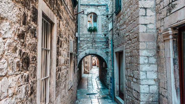 Alleys in Old Town, Split