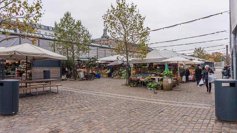 Fruit and vegetables outside the Torvehallerne, Copenhagen
