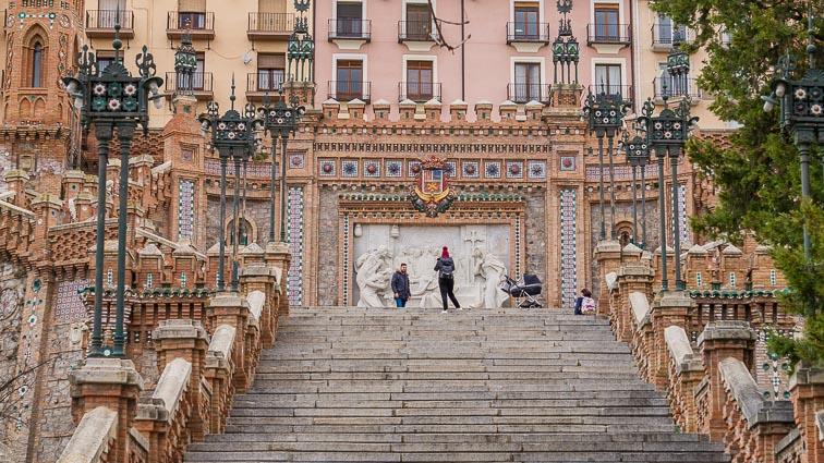Escalinata de Teruel