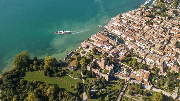 Lazise from the sky