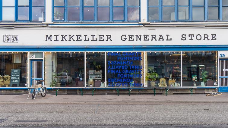 The Mikkeller General Store in the Meatpacking District of Copenhagen