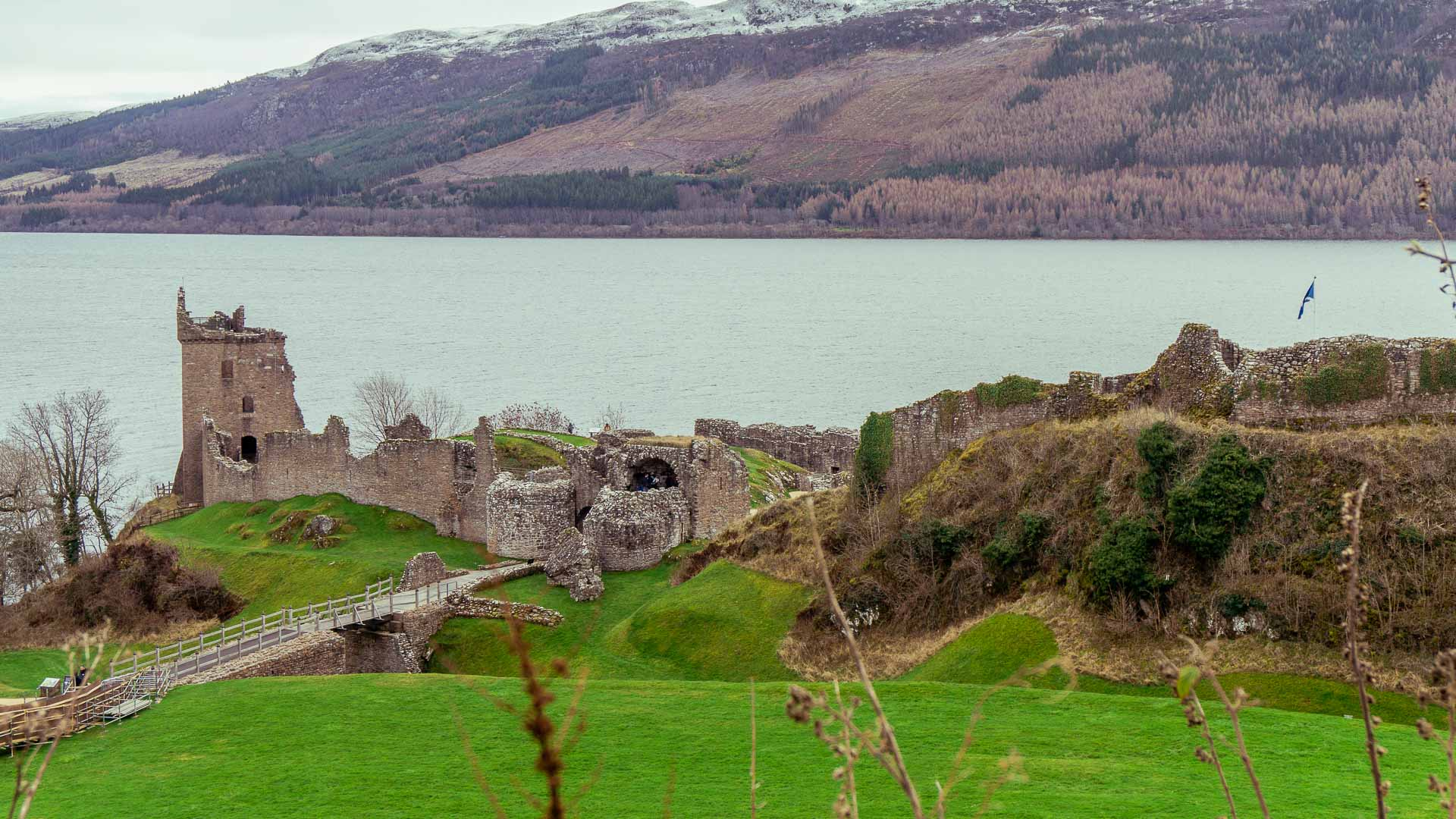 Castle ruins in Scotland. Is Scotland Expensive?
