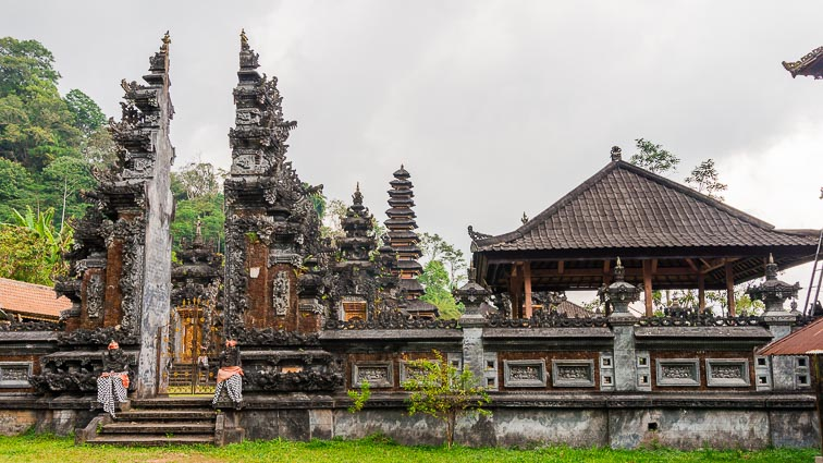 Pura Ulun Danu Buyan in the Munduk region