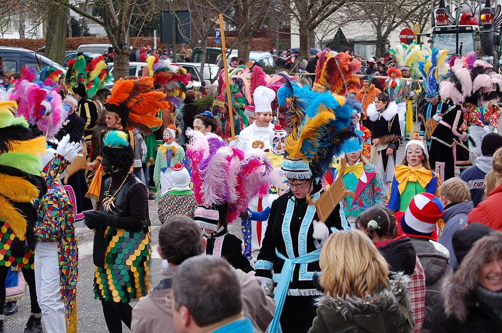 Shrove Sunday parade in Malmedy