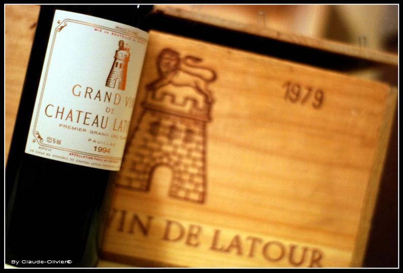 1994 bottle of Latour wine