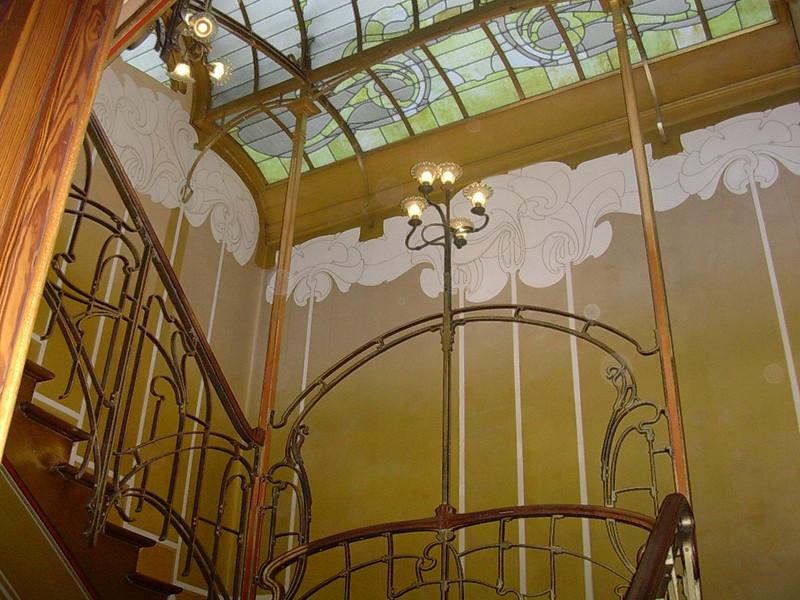inside the Horta Museum