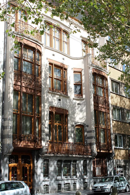 Solvay House exterior