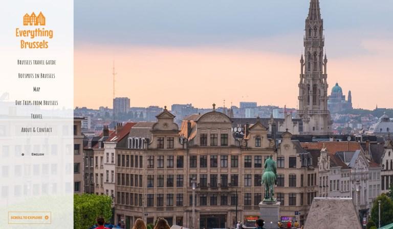 Everything Brussels homepage