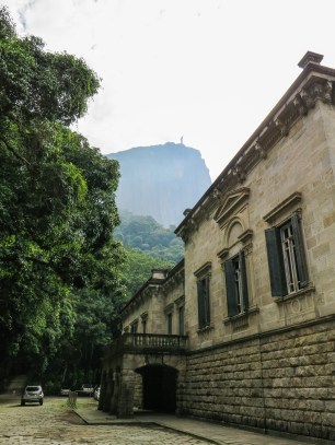 Corcovado from the bottom of the trail