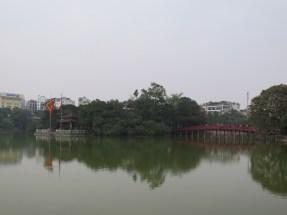 Ngoc Son Temple on Hoan Kiem Lake