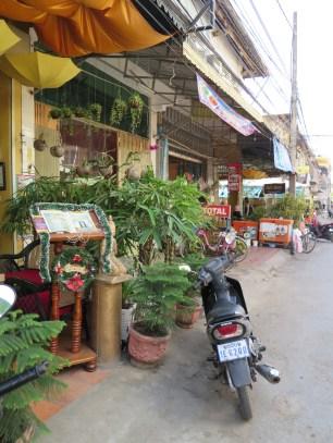 Typical Battambang street scene