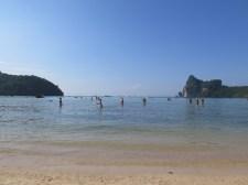 Phi Phi ocean shelf