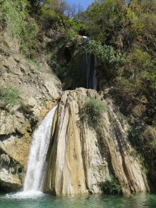 Waterfall near the bottom