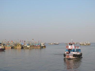 Boats to Elephanta
