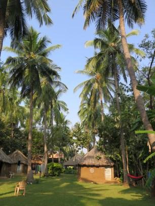 My hut at Manju's Place
