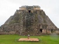 Uxmal temple