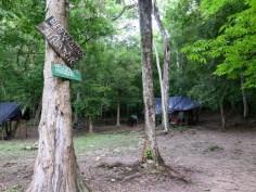 Mirador camping grounds