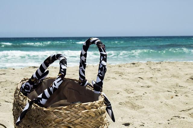 bag, sun, vacation