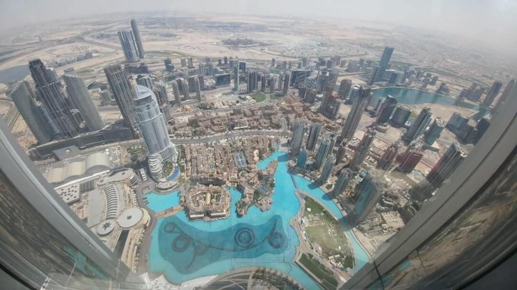Burj Khalifa, View, Dubai