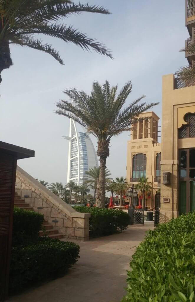 Souk Madinat Jumeirah, bazzar, palm