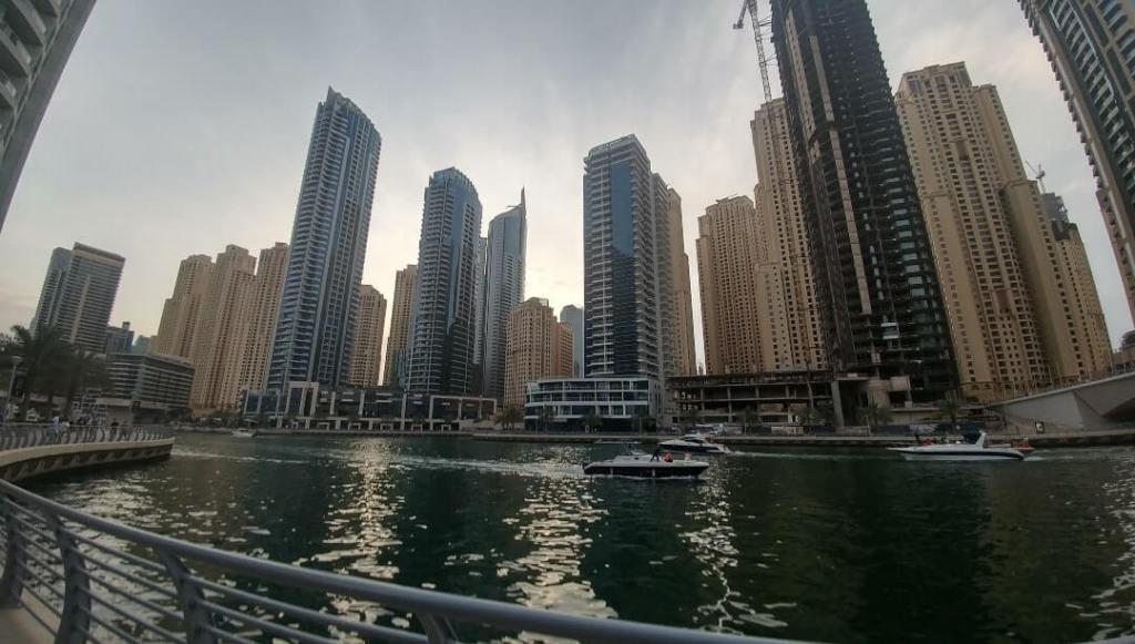 Dubai Marina, water, boardwalk