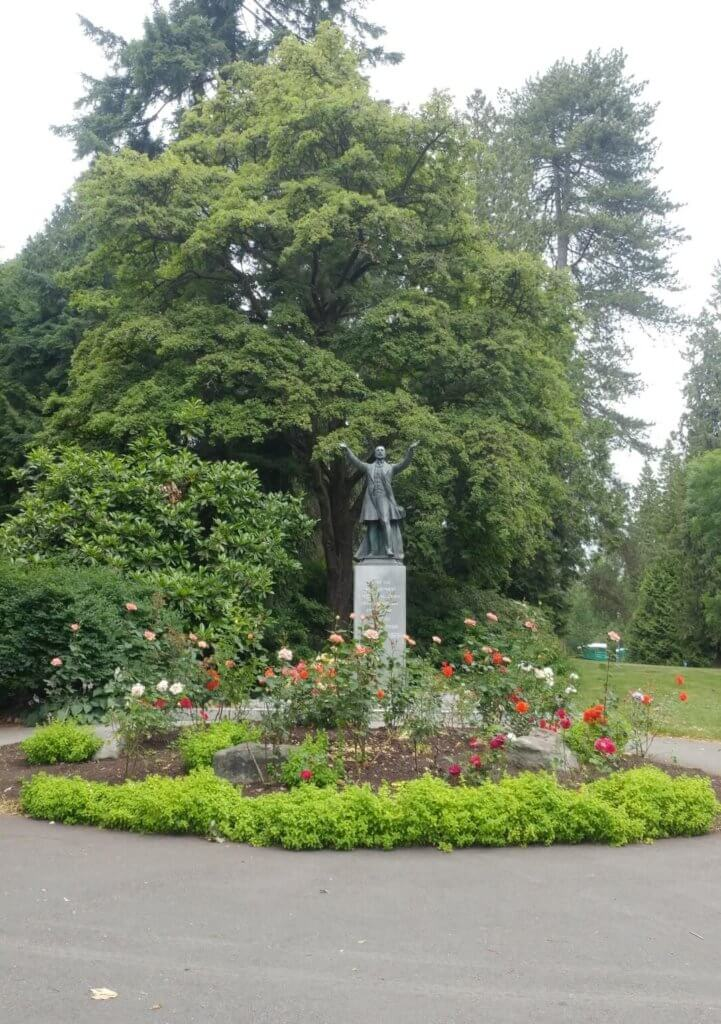 statue, Lord Stanley, park