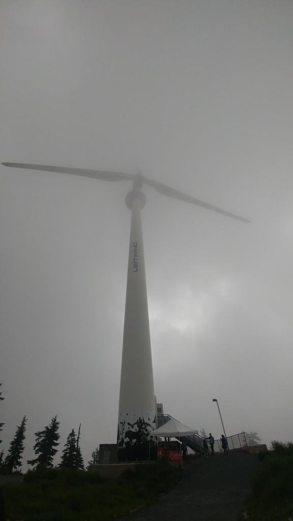 The Eye of the Wind, turbine