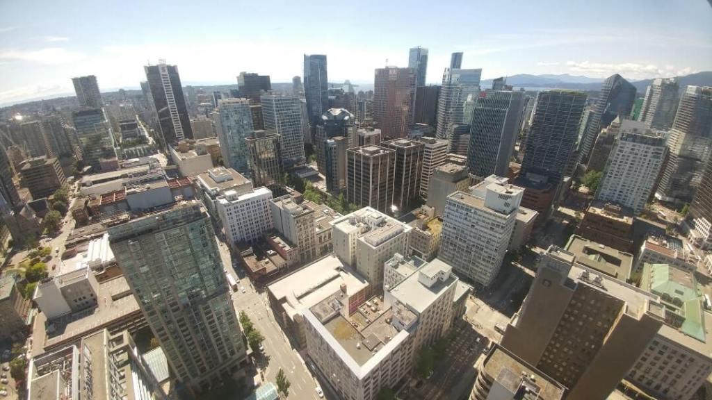 city view, buildings, Canada
