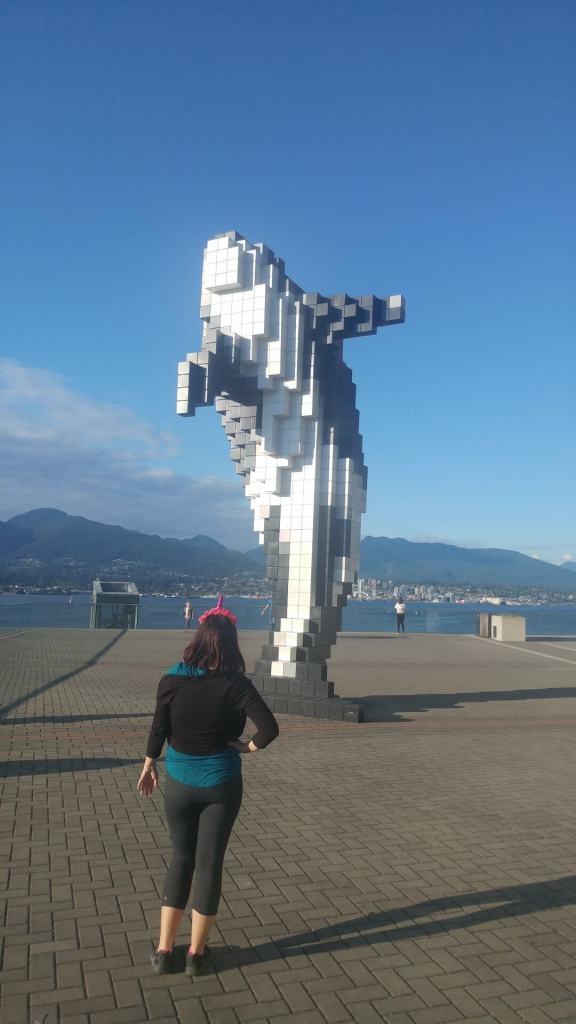Digital Orka, art installation, unicorn, Vancouver