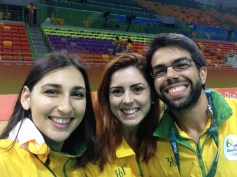Handball team with brazilians