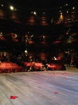 Inside the Royal Shakespeare Theatre