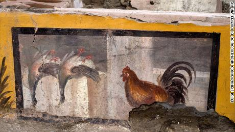 An undated photo shows the ancient eatery in the Pompeii archeological park, near Naples.