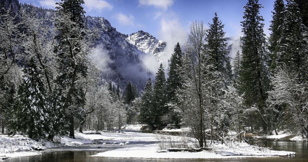 Yosemite National Park is open for day-use only